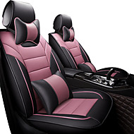 abordables -cojín para el automóvil cuatro estaciones universal todo el cojín de la salud de la historieta del sonido envolvente conjunto del asiento de coche red neta del coche cubierta del asiento de coche todo