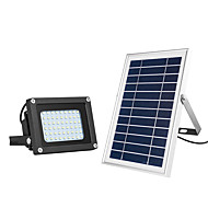 tanie -1 szt. 15 W Reflektory LED / Światła do trawy / Zewnętrzne lampy ścienne Wodoodporny / Na energię słoneczną / Kontrola światła Ciepła biel + biały 3.7 V Oświetlenie zwenętrzne / Dziedziniec / Ogród 54