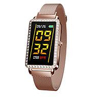お買い得  -BoZhuo A88 女性 スマートブレスレット Android iOS ブルートゥース 防水 心拍計 血圧測定 スポーツ 消費カロリー 歩数計 着信通知 睡眠サイクル計測器 座りがちなリマインダー 目覚まし時計