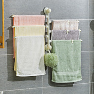 cheap -Towel bar rotating towel rack bathroom kitchen wall hanging towel bracket