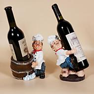 Χαμηλού Κόστους -1pc Ρητίνη Σχάρες Κρασιών Σχάρες Κρασιών Κλασσικό Κρασί Αξεσουάρ για Barware