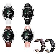 billige -Klokkerem til vivomove / vivomove HR / Vivoactive 3 Garmin Sportsrem Metall / Lær Håndleddsrem