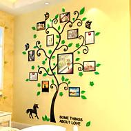 Autocollants muraux décoratifs - Autocollants muraux 3D A fleurs / Botanique Intérieur