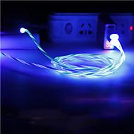 abordables -Eclairage Câble 1.0m (3ft) Charge rapide TPE Adaptateur de câble USB Pour iPhone