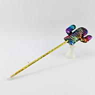 abordables -paillettes en plastique / double face cactus bleu crayon plomb bille artisanat cadeaux pour les enfants apprenant la papeterie de bureau