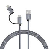 זול -מיקרו USB / תאורה כבל 1.0m (3ft) הכל ב-1 / קלוע ניילון מתאם כבל USB עבור סמסונג / Huawei / LG
