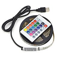 abordables -1set usb llevó la lámpara de tira 2835smd dc5v cinta de cinta de luz led flexible 2m hdtv tv escritorio pantalla de fondo sesgo de iluminación