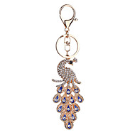זול -ציפור שרשרת מפתחות כחול חיה סגסוגת אופנתי עבור קזו'אל יומי עבודת יד