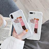 tanie -pokrowiec na jabłko miłość czytanie dziewczyna wzór etui na telefon dla iphone6 / 6s / 6splus / 7 / 7plus / 8 / 8plus / x / xr / xs / xsmax