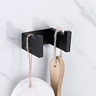 economico -Appendi-accappatoio Nuovo design / Auto-adesivo / Creativo Moderno / Tradizionale Acciaio inossidabile / Metallo 1pc - Bagno Montaggio su parete