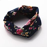 levne -dámské roztomilé elegantní vinobraní tkaniny květinové