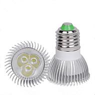 billige -1pc 3 W LED-spotpærer 110-210 lm E26 / E27 3 LED perler Kreativ Varm hvit Kjølig hvit 220-240 V 110-120 V