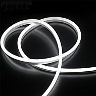 billige -2m 12v silikon ledet neon tau lys fleksible vanntett stripe lys for diy innendørs utendørs dekorative tegn bokstaver