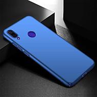 Ultra fino anti impressão digital e minimalista caso de telefone pc duro para xiaomi redmi note 7 / xiaomi redmi nota 7 pro
