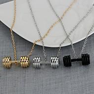 billige -Herre Anheng Halskjede Chrome Gull Svart Sølv 50 cm Halskjeder Smykker 1pc Til Daglig