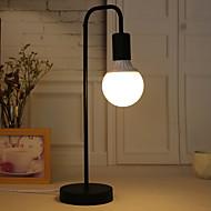 billige -metallic / Moderne Moderne Ambient Lamper / Dekorativ / Bedårende Bordlampe / Skrivebordslampe / Leselys Til Soverom / Kontor Metall 110-120V / 220-240V Hvit / Svart