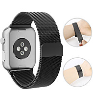 preiswerte -Uhrenarmband für Apple Watch Serie 4/3/2/1 Apple Milanese Loop Metallarmband