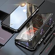 abordables -Funda Para Apple iPhone XR / iPhone XS Max Espejo / Transparente Funda Trasera Un Color / Transparente Dura Vidrio Templado para iPhone XS / iPhone XR / iPhone XS Max