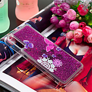 cheap -Case For Samsung Galaxy Galaxy A30(2019) / Galaxy A50(2019) Shockproof / Flowing Liquid / Pattern Back Cover Butterfly / Glitter Shine / Flower Soft TPU for Galaxy A7(2018) / A3(2017) / A5(2017)