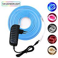 billige -KWB 2m Fleksible LED-lysstriper 240 LED SMD3528 Varm hvit / Hvit / Rød Vanntett / Kreativ / Kuttbar 12 V 1set