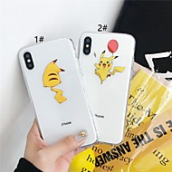Case For Apple iPhone XR / iPhone XS Max Pattern / Transparent Back Cover Animal / Cartoon Soft TPU for 6 6 Plus 6s 6Splus 7 8 7plus 8plus X XS
