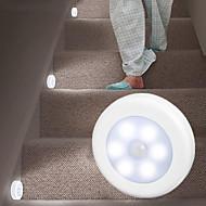 billige -4pcs lanyard hockey induksjonslampe fri installasjon magnetisk lime gulvskap rund lys kontroll øye fôring natt lys
