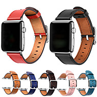 halpa -Watch Band varten Apple Watch Series 4/3/2/1 Apple Perinteinen solki Nahka Rannehihna