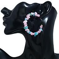 abordables -Boucles d'Oreille Femme Résine Bagues Tendance Bijoux Vert Bleu Rose pour Soirée Quotidien Plein Air Vacances Festival 1 paire