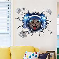 cheap -Decorative Wall Stickers - Plane Wall Stickers Animals / Still Life Bedroom / Kitchen