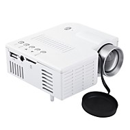 お買い得  -uc28aミニポータブルledプロジェクターlcd 1080 p hdマルチメディアホームシネマシアターusb tf hdmi av ledビーマープロジェクター用家庭用