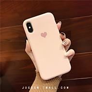 baratos -Capinha Para Apple iPhone XS / iPhone XR / iPhone XS Max Estampada Capa traseira Coração TPU
