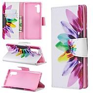 povoljno -Θήκη Za Samsung Galaxy Note 9 / Note 8 / Galaxy Note 10 Novčanik / Utor za kartice / Otporno na trešnju Korice Cvijet PU koža