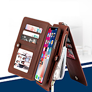 ieftine -Husa pentru telefon din piele musubo flip pentru apple iphone 7 plus / iphone 8 plus / iphone xs / iphone x / iphone 6 / 6s / iphone xr / iphone xs max portofel multi-funcțional separabil pentru