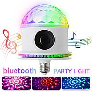 povoljno -led disko žarulje bluetooth zvučnik glazbe daljinski rgbwhite čarobni projektor svjetlo pozornice e27