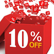 10% OFF & Up