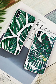 cheap -Case For Apple iPhone XR / iPhone XS Max Pattern Back Cover Plants Soft TPU for iPhone XS / iPhone XR / iPhone XS Max