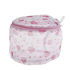 abordables Almacenamiento para Baño y Colada-lavado de malla de uso doméstico ropa interior organizador bolsa de lavado malla útil bolsa de lavado sujetador bolsa de lavandería con cremallera