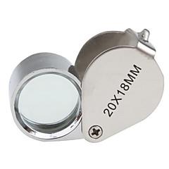 baratos -20x18mm joalheiros lupa / lente de aumento
