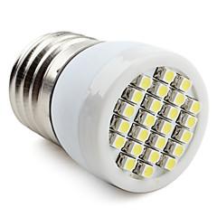 お買い得  LED 電球-60-80lm E26 / E27 LEDスポットライト 24 LEDビーズ SMD 3528 ナチュラルホワイト 220-240V