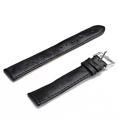 Unisex PU Leather Watch Strap 18MM(Black) Cool Watch Unique Watch