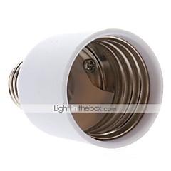 billiga LED-tillbehör-E27 till E40 E40 Ljusuttag Plast