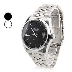 お買い得  大特価腕時計-男性用 ドレスウォッチ カレンダー 合金 バンド シルバー