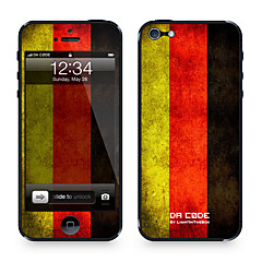 "Da Code ™ Skin for iPhone 4/4S: ""Germany"" (Flags Series) iPhone Skin Stickers"