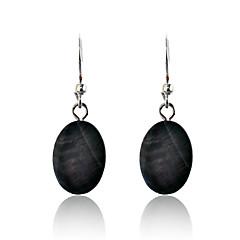 tanie Kolczyki-Damskie Kolczyki wiszące Porcelanka Stop Biżuteria Black Impreza Codzienny Casual Biżuteria kostiumowa