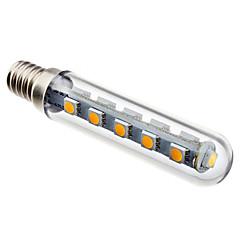 2W E14 Ampoules Maïs LED T 16 diodes électroluminescentes SMD 5050 120lm Blanc Chaud AC 100-240
