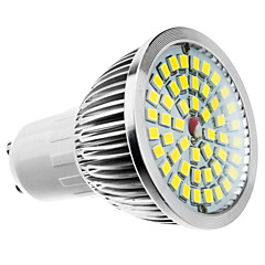 cheap LED Bulbs-6W 500-550 lm GU10 LED Spotlight MR16 48 leds Warm White Cold White Natural White AC 100-240V AC 85-265V