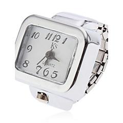 preiswerte Damenuhren-Damen Ringuhr Armbanduhren für den Alltag Legierung Band Charme Silber / Ein Jahr / SSUO SR626SW
