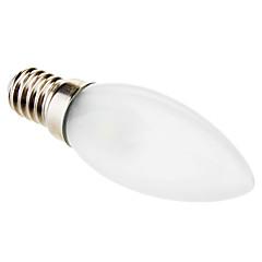 preiswerte LED-Birnen-0.5W 15-50lm E14 LED Kerzen-Glühbirnen C35 3 LED-Perlen SMD 5050 Dekorativ Kühles Weiß 220-240V