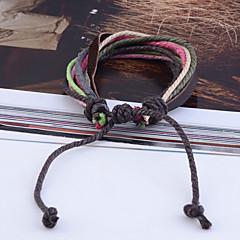 preiswerte Armbänder-Damen Wickelarmbänder Stoff Schmuck Party Alltag Normal