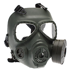 Skull μάσκα αερίων Style για υπαίθρια παιχνίδια πολέμου - στρατού πράσινο